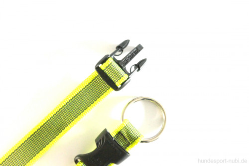 Halsband neon gelb - Signalfarbe - Verschluss - Julius K9 - 39 - 65 Halsumfang - günstig online bestellen bei Hundesport Nubi