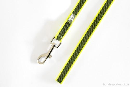 Leine 1m neon gelb, gummiert - Julius K9 - günstig online kaufen bei Hundesport Nubi