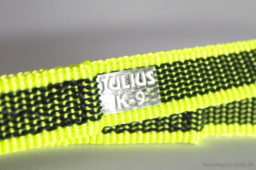 Leine neon gelb, gummiert - Julius K9 - günstig online bestellen bei Hundesport Nubi