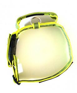 Halsband mit Griff, Hetzhalsband in neon gelb, Julius K9 - günstig online kaufen bei Hundesport Nubi