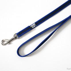 Gummierte Leine, 1,2 Meter, blau - Julius K9 - günstig online kaufen bei Hundesport Nubi
