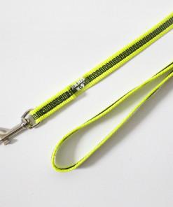 Gummierte Leine, 1,2 Meter, neon gelb - Julius K9 - günstig online kaufen bei Hundesport Nubi