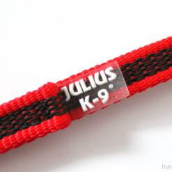 Gummierte Leine, rot - Julius K9 Logo - günstig online kaufen bei Hundesport Nubi