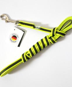 Leine neon gelb, 3 Meter, gummiert - Julius K9 - günstig online kaufen bei Hundesport Nubi
