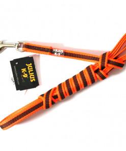 Leine neon orange, 3 Meter, gummiert - Julius K9 - günstig online kaufen bei Hundesport Nubi