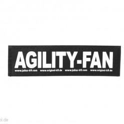 Agility Fan Sticker mit Klettverschluss für Halsband, Geschirr, Julius K9 - online kaufen bei Hundesport Nubi