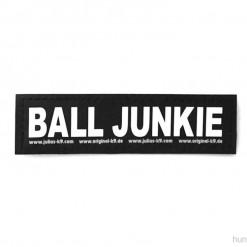 Balljunkie Sticker mit Klettverschluss für Halsband, Geschirr, Julius K9 - online kaufen bei Hundesport Nubi