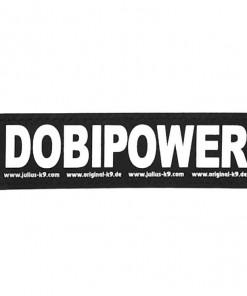 Dobermann Dobipower Sticker, Klettsticker für Halsband, Geschirr, Julius K9 - online kaufen bei Hundesport Nubi