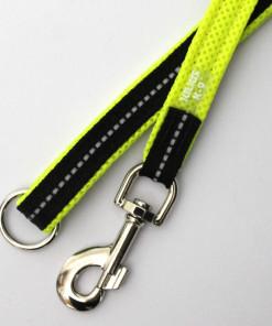 Hundeleine POWAIR 1,2m, neon gelb, Detail - Julius K9 - günstig online bestellen bei Hundesport Nubi