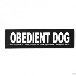 Obedience Dog Sticker, Klettsticker für Halsband, Geschirr, Julius K9 - online kaufen bei Hundesport Nubi