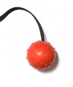 Schweikert Ball mit Seil Naturkautschuk, orange - günstig online kaufen