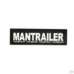 Mantrailing Mantrailer Sticker, Klettsticker für Halsband, Geschirr, Julius K9 - online kaufen bei Hundesport Nubi